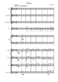 Vissi d'arte... – aria from Tosca (Score and parts)