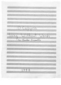 Song Without Words for Chamber Orchestra (score)
